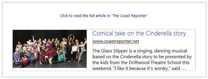 Driftwood Players: Theatre School